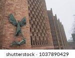 coventry  england  uk   3rd... | Shutterstock . vector #1037890429