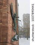 coventry  england  uk   3rd... | Shutterstock . vector #1037890441