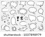 set of speech bubbles. set of...