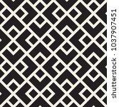 vector seamless lattice pattern.... | Shutterstock .eps vector #1037907451