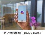 chiang mai  thailand   mar 02... | Shutterstock . vector #1037916067