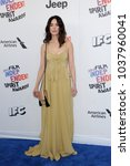 Small photo of Abigail Spencer at the 2018 Film Independent Spirit Awards held at Santa Monica Beach, USA on March 3, 2018.