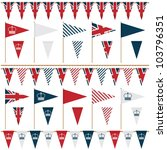 united kingdom party flags and...   Shutterstock .eps vector #103796351