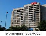 The Cnn Center And Omni Hotel...