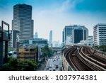 bangkok   february 26 bts... | Shutterstock . vector #1037974381