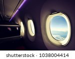 stunning wide angle view of... | Shutterstock . vector #1038004414