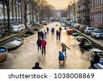 amsterdam  north holland   the... | Shutterstock . vector #1038008869
