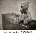 Vintage Style Teddy Bear And...