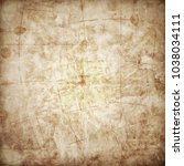 old map with a compass on it    Shutterstock . vector #1038034111