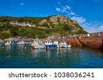 image of bonne nuit harbour in...   Shutterstock . vector #1038036241