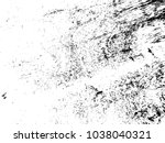 distressed grainy wood overlay... | Shutterstock .eps vector #1038040321