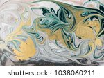 marble abstract acrylic... | Shutterstock . vector #1038060211