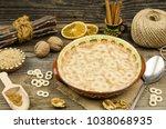 romanian traditional food... | Shutterstock . vector #1038068935