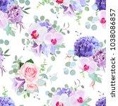 seamless vector design pattern... | Shutterstock .eps vector #1038086857