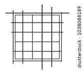 random lines  stripes. chaotic... | Shutterstock .eps vector #1038088189