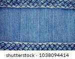 denim texture background  jeans ... | Shutterstock . vector #1038094414