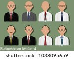 businessman avatar with...   Shutterstock .eps vector #1038095659