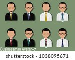 businessman avatar with...   Shutterstock .eps vector #1038095671