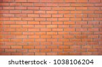 decorative brick wall for... | Shutterstock . vector #1038106204