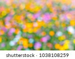 colorful bokeh for background... | Shutterstock . vector #1038108259