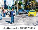 new york city  usa   october 28 ... | Shutterstock . vector #1038123805