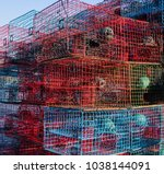 Crab Traps Stacked On A Fishin...