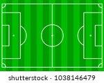 scheme of the football field  ... | Shutterstock .eps vector #1038146479