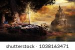 Fantasy Scene With Castle ...