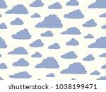 simple cute shape. heaven... | Shutterstock .eps vector #1038199471