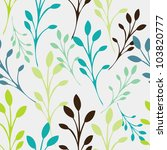 seamless floral pattern with... | Shutterstock .eps vector #103820777