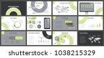business presentation templates.... | Shutterstock .eps vector #1038215329