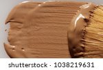 liquid foundation texture... | Shutterstock . vector #1038219631