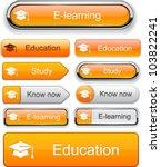 Education Web Orange Buttons...
