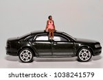 miniature of a black young...   Shutterstock . vector #1038241579