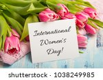 International Women's Day. Car...