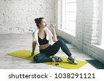 health  sports  fitness  diet... | Shutterstock . vector #1038291121