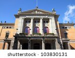 oslo  capital city of norway  ... | Shutterstock . vector #103830131