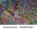 rock detail with variety of... | Shutterstock . vector #1038301867
