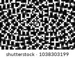 black and white abstract vector ... | Shutterstock .eps vector #1038303199