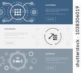 artificial intelligence 3... | Shutterstock .eps vector #1038306019