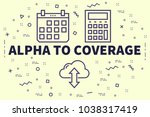 conceptual business... | Shutterstock . vector #1038317419