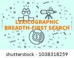 conceptual business... | Shutterstock . vector #1038318259