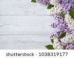 a wooden background with... | Shutterstock . vector #1038319177