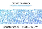 crypto currency concept. vector ...   Shutterstock .eps vector #1038342094