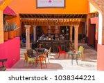 mexico  cancun   february 15 ... | Shutterstock . vector #1038344221