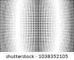 abstract halftone wave dotted... | Shutterstock .eps vector #1038352105