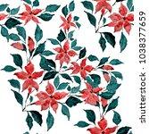 watercolor seamless pattern...   Shutterstock . vector #1038377659