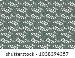 leaves pattern background | Shutterstock .eps vector #1038394357