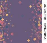 rhombus violet minimal... | Shutterstock .eps vector #1038404785