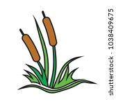 reed sketch vector    Shutterstock .eps vector #1038409675